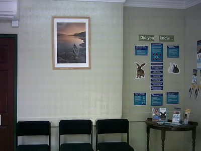 Waiting room front